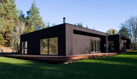 Immobiliers Offres Maison Bois Contemporaine Suede