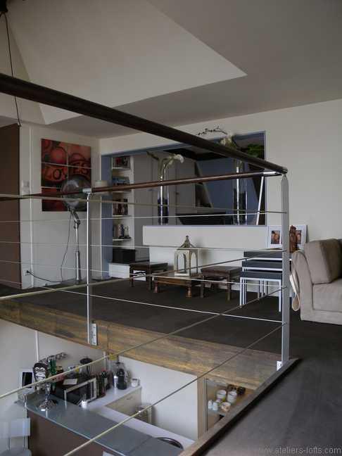Atelier artiste entr e de la chambre journal du loft for Atelier du loft